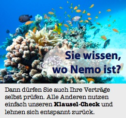 Sie wissen, wo Nemo ist?