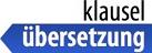 Klausel-Übersetzung